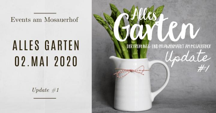 Alles Garten – Update #1