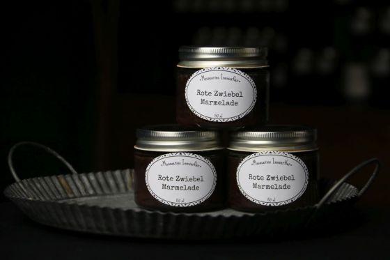 mosauerei rote zwiebel marmelade