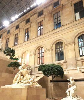 Louvre, le soir, ouvert jusqu'à 21h30
