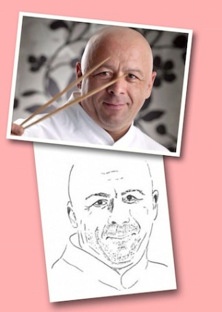 Thierry Marx chef étoilé et dessin