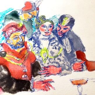 Veronese, les noces de Cana, les chefs trouvent l'inspiration au Louvre