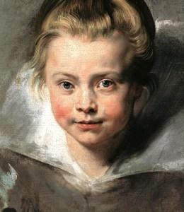 Portrait de Maria Serena, fille de Rubens