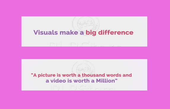 Citations sur le visuel pour vendre vos dessins sur le net