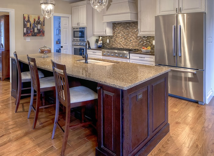 island kitchen wall phones st louis custom islands 7 design ideas to whet your appetite