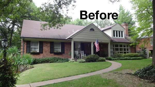 The Before And After Story Of A St Louis Exterior Update