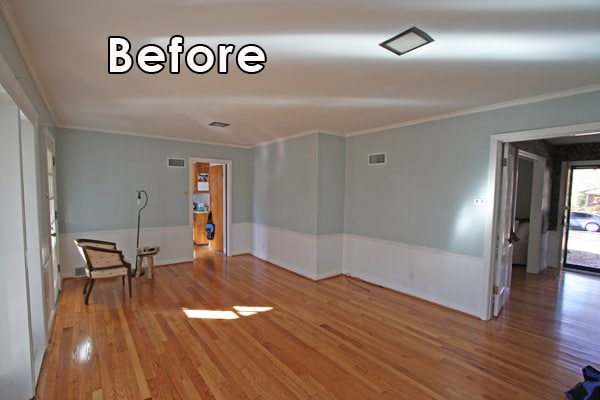 kitchen remodels before and after copper aid mixer & after: a ranch home makeover | mosby building ...