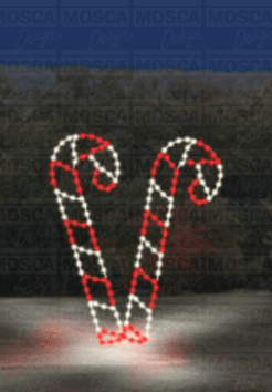 SSTL-208 Dancing Candy Canes Main