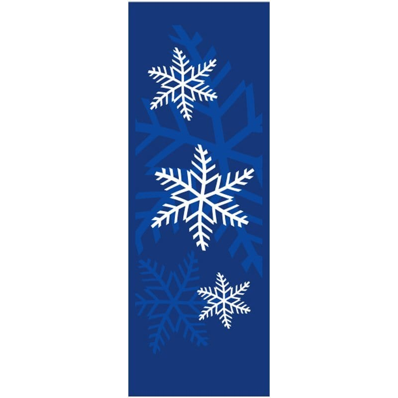 052552 Snowflakes winter holiday banner