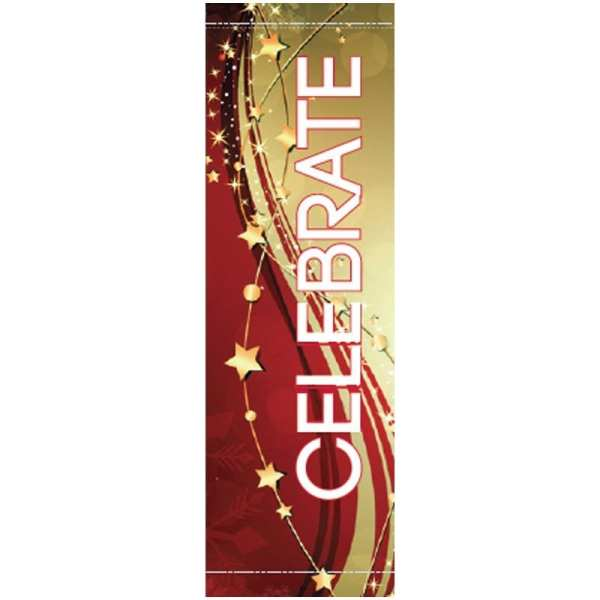 Holiday Streamers 20920 fall winter holiday banner