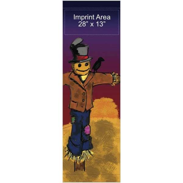 Harvest Scarecrow 09939 fall winter holiday banner