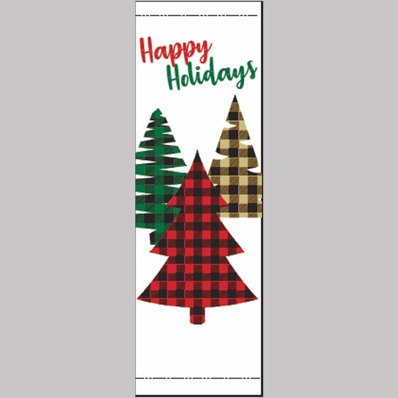 Holiday Plaid 20824 winter holiday banner