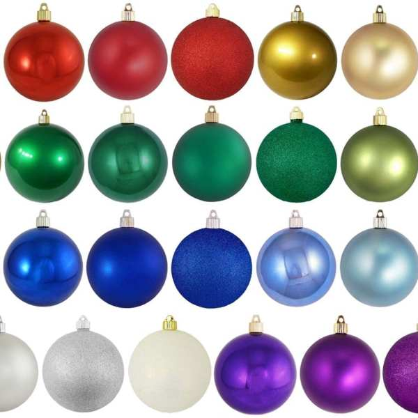 150mm Shatterproof Ornaments specialty Colors