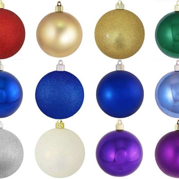 80mm Shatterproof Ornaments Specialty Colors layout reduced