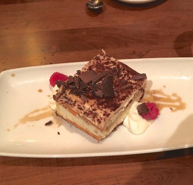 Gervasi Vineyard Braised Tiramisu