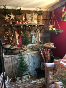 christmas vintage decor Old Lucketts Store