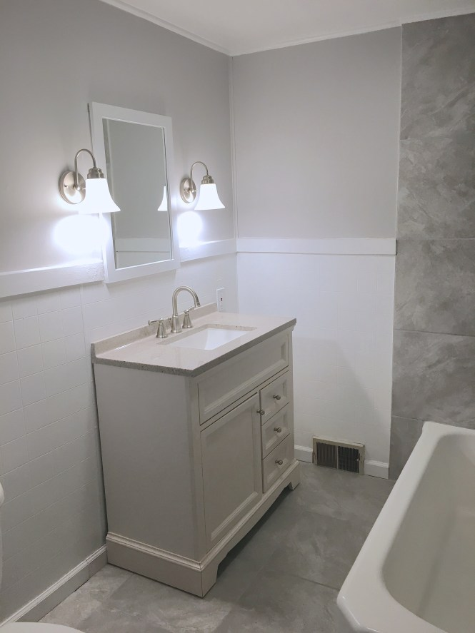 pittsburgh house flip after bathroom