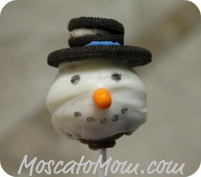 Christmas Cake Pops – Snowmen