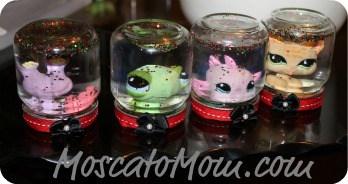 Baby Food Jar Snow Globes DIY Holiday Sno...