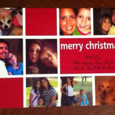 Walmart Makes Christmas Cards Easy