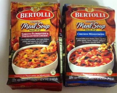 Bertolli Meal Soup Review
