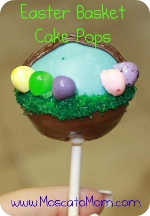 Easter Cake Pops Moscato Mom