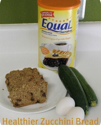 Healthier Zucchini Bread