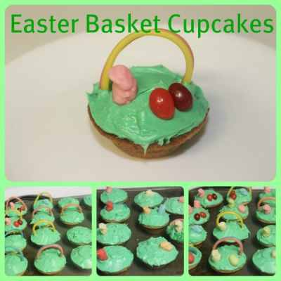 Easter Cupcakes – Springtime Sweets with #EqualSucralose