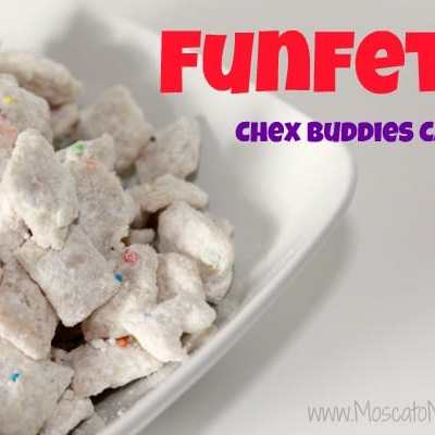 Funfetti Chex Buddies Candy Recipe