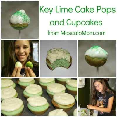 Key Lime Summer Cake Pops