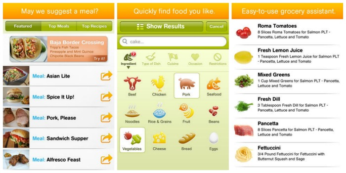 cooking planit app