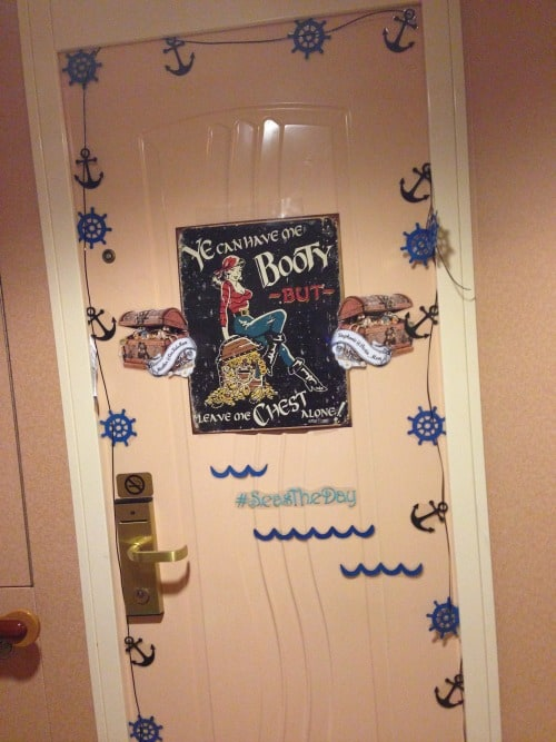 Cruise Ship Door Decorating Contest