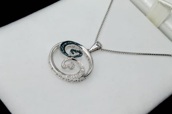 openhearts wave collection small pendant