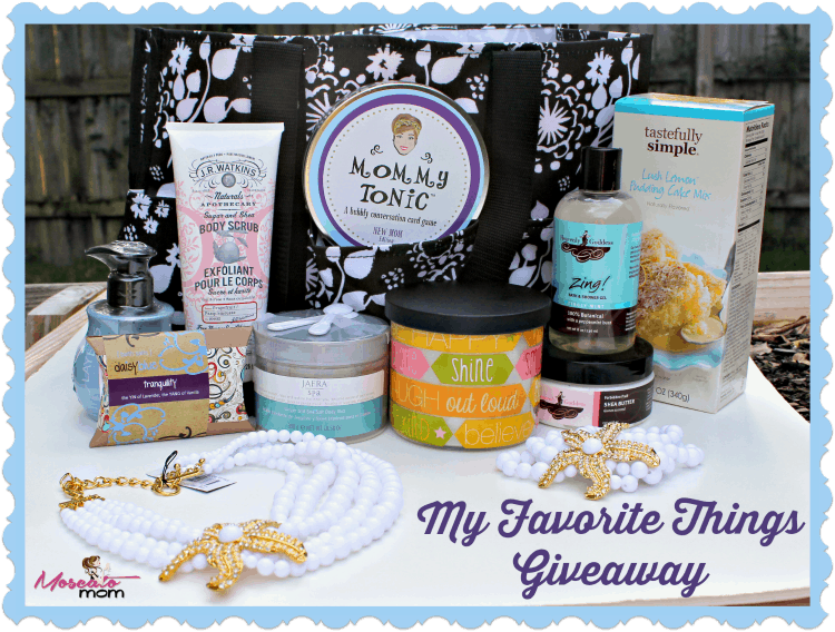 my favorite things giveaway 750