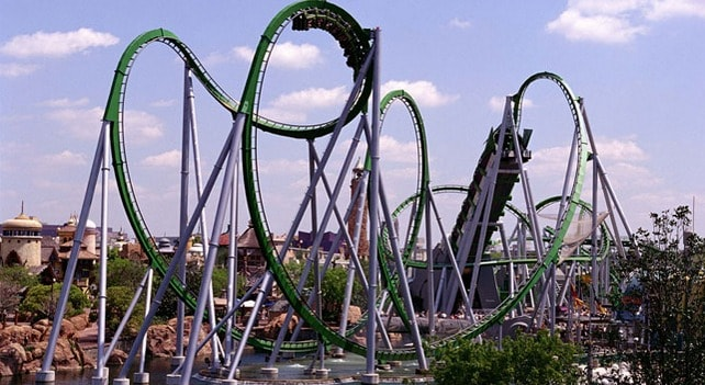 Incredible Hulk Ride