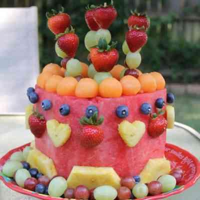 My #Whole30 Birthday Cake