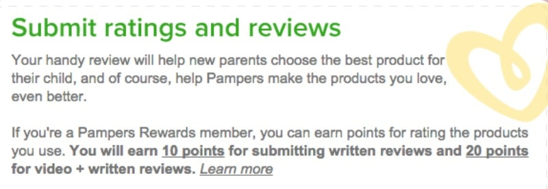 pampers review