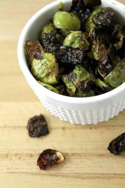 Garlic Balsamic Brussels Sprouts
