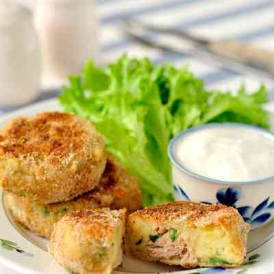 Tuna and Potato Fish Cakes