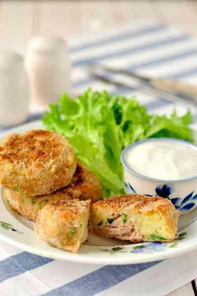 Tuna and Potato Fish Cakes