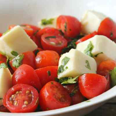 Cherry Tomato & Mozzarella Salad