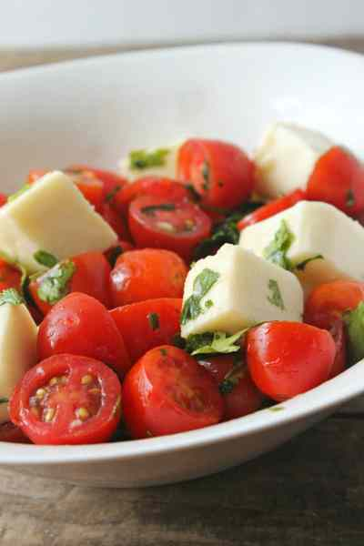 Cherry Tomato & Mozzarella Salad