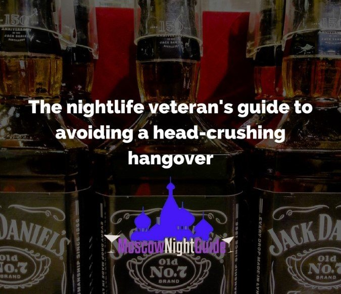 The nightlife veteran's guide to avoiding a head-crushing hangover