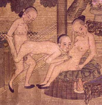 chinese threesome