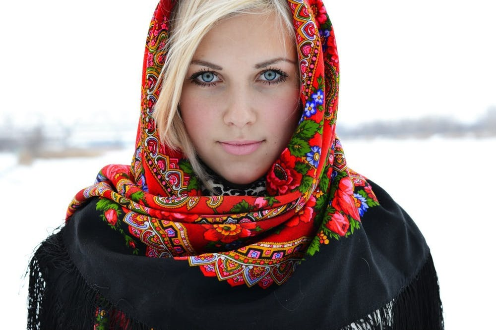 traditional russian woman