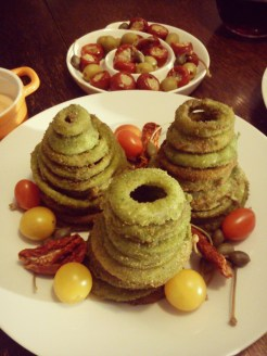 Next time, green onion rings.