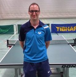 Stefan Zimmer, Abteilungsleiter Tischtennis