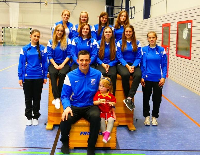 Das Trainerteam der Abteilung Turnen des TuS Mosella Schweich e.V.