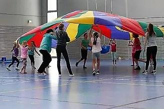 Kinderturnen bei der TuS Mosella Schweich e.V.