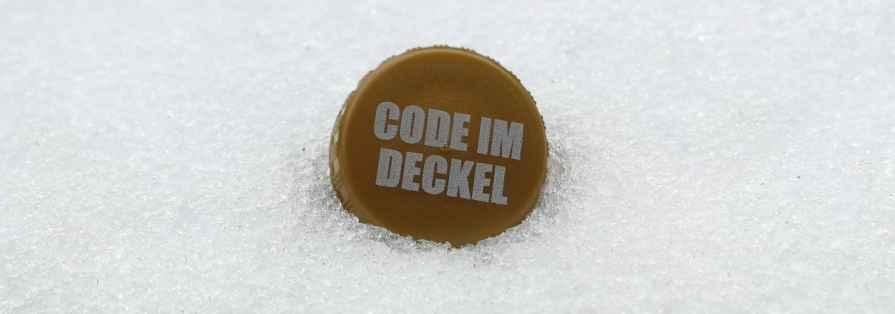 Code im Deckel