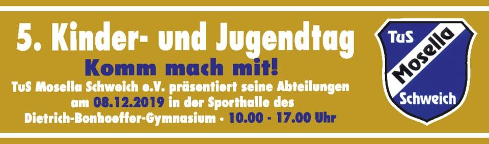 Kinder-und Jugendtag des TuS Mosella Schweich e.V.
